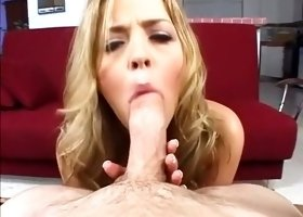 Exotic pornstar Alexis Texas in amazing blowjob, pov adult clip