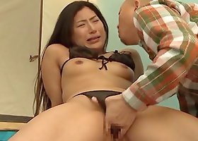 Babe enjoys pussy fingering and fucking in old and young scene