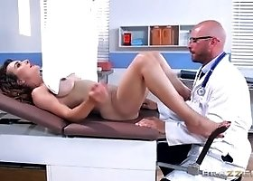 Incredible brunette wife Cytherea featuring hot creampie