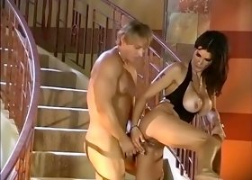Exotic pornstars Angel Long, Renee Larue and Mercedes Ashley in horny porn movie