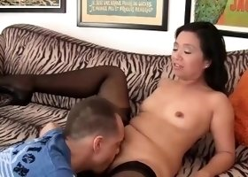 Lucky Starr gets bent over and fucked