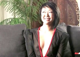 Video compilation of gorgeous Asian babes with fabulous bodies laughing and chatting on-set