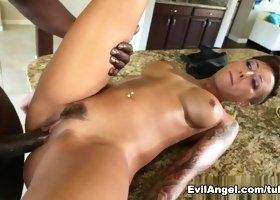 Fabulous pornstars Bella Bellz, Lexington Steele in Crazy Big Tits, Latina porn video