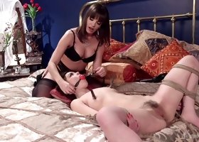 Exotic fetish, anal xxx movie with incredible pornstars Juliette March and Dana DeArmond from Whippedass