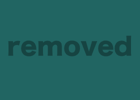 Arched blondie gets her head covered with some hot wax drops