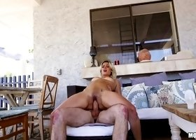 Alana wants that fat dick inside her pussy as soon as possible!