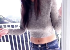 Fully-clothed girl is enjoying his hard dick like never before