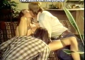Classic euro cougar is easily seduced for filthy FMM threesome